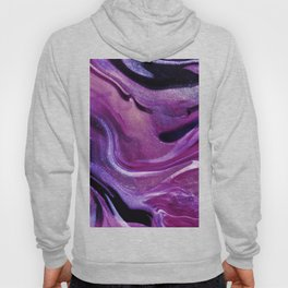 Abstract Purple Color Art Pattern  Hoody