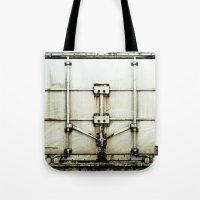 metal Tote Bags featuring metal by alina vasile