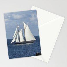 Blue Schooner 05 Stationery Cards