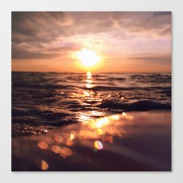 And there I find You in the mystery, in oceans deep - Square Canvas Print