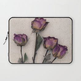 four dried roses Laptop Sleeve