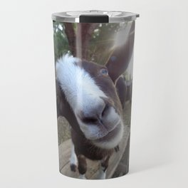 Goat Barnyard Farm Animal Travel Mug