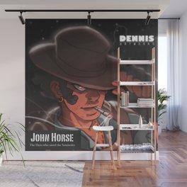John Horse Wall Mural