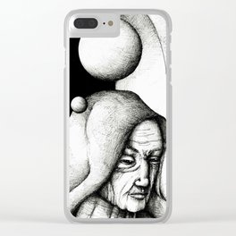Monk Clear iPhone Case