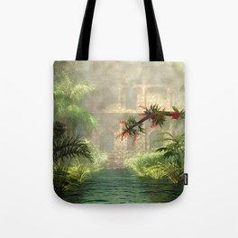 Lost City in the jungle Tote Bag