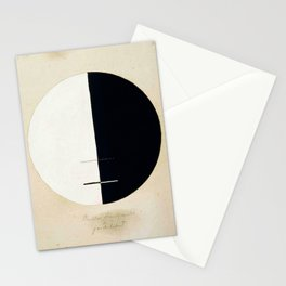Hilma af Klint, Buddha's Standpoint in the Earthly Life, 1920 Stationery Cards