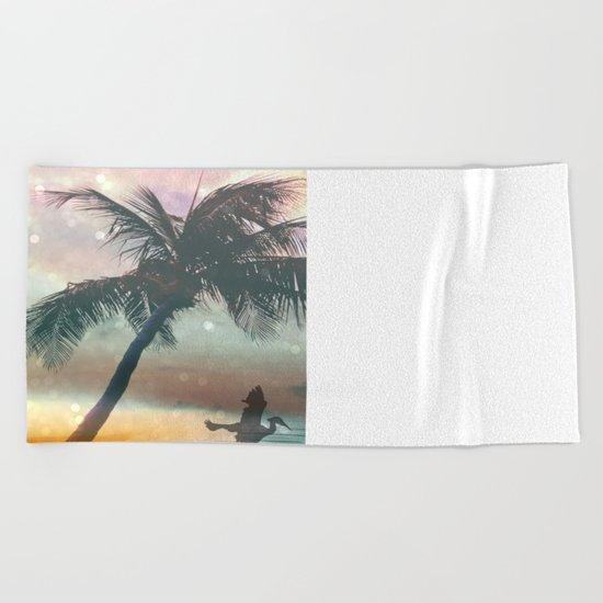 Exotic Beach Beach Towel