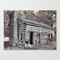 rustic Canvas Prints featuring Rustic by Mike Griffiths
