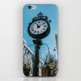 Time at Penny Lane iPhone Skin