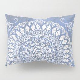 Paisley Moon Henna Mandala Pillow Sham