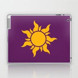 Tangled Rapunzel Sun Logo - Corona Symbol Laptop & iPad Skin