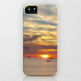 Sister Bay 2016 Sunset iPhone Case
