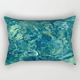 Mar de las calmas Rectangular Pillow