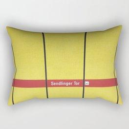 Munich U-Bahn Memories - Sendlinger Tor Rectangular Pillow