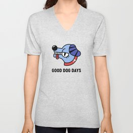 Good Dog Days Unisex V-Neck