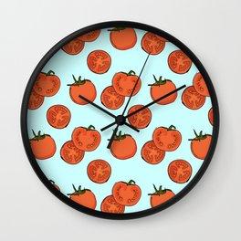 Tomato patter Wall Clock