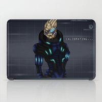 garrus iPad Cases featuring Vakarian by Mash92