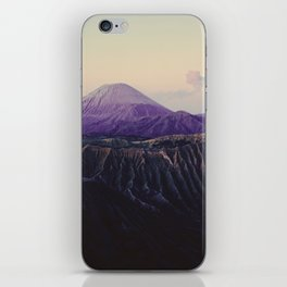 Majestic Bromo volcano, Indonesia iPhone Skin