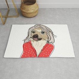 Celebrity Dogs-Kelly Ruff-A Rug