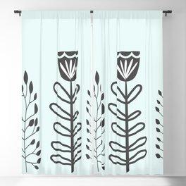 Nordic Garden Blackout Curtain