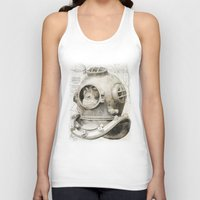 scuba Tank Tops featuring scuba diving by PRIMATE