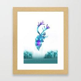 Raindeer Games Framed Art Print