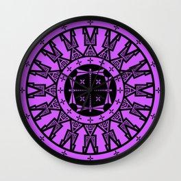 Ancestors (Black Lavender) Wall Clock