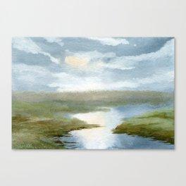 Upriver Canvas Print