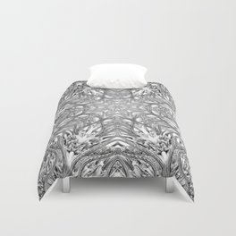 Black-and-White Abstract 12 Duvet Cover