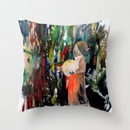 la bergere Throw Pillow