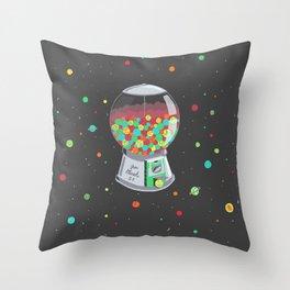 The Delicious Origin of the Universe Throw Pillow