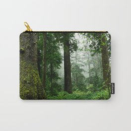 Light Fog in the Dense Forest Carry-All Pouch