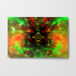 Crab Stardust- The Mind Explodes Metal Print