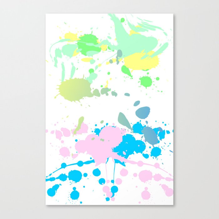 Paint Daubs (2) Canvas Print