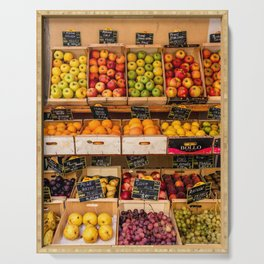 Groceries, Nice France Serving Tray
