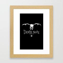 Death Note Ryuk v2.0 Framed Art Print