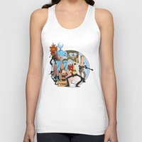 metal gear Tank Tops featuring METAL GEAR RICK by Philtomato