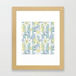 Alphabet Fun 2 . Framed Art Print
