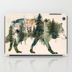 Wolf is the Pride of Nature iPad Case