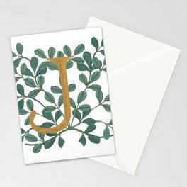 Forest Letter J Lite 2020 Stationery Cards