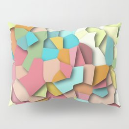mosaic chaos Pillow Sham