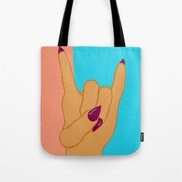 Glam Rock Tote Bag