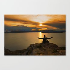 With Arms Wide Open Canvas Print