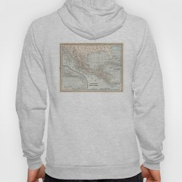 Vintage Map of Mexico (1893) Hoody