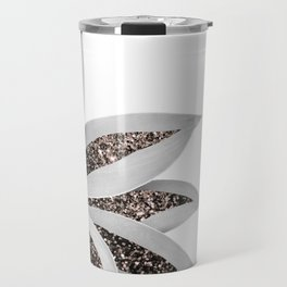 Agave Finesse Glitter Glam #1 #tropical #decor #art #society6 Travel Mug