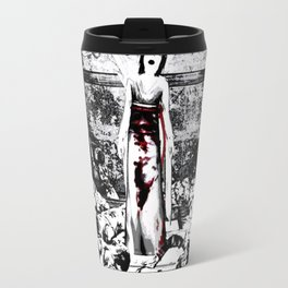 Ghost in Fatal Frame Travel Mug