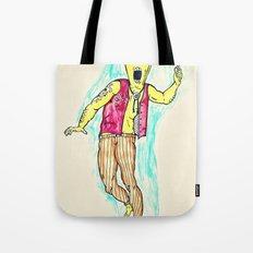 Boxface Tote Bag