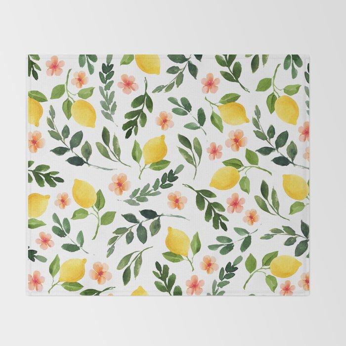 Lemon Grove Throw Blanket