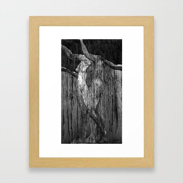 Magdalena III (una anunciación) Framed Art Print