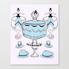 Let Them Wear Cake Canvas Print